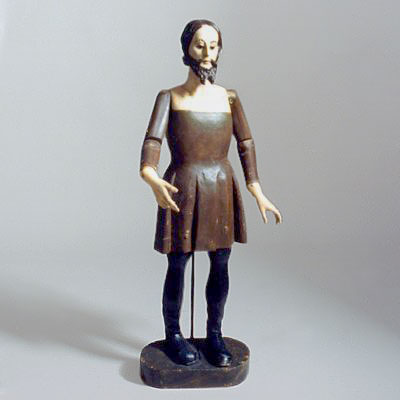 ARTICULATED WOOD FIGURE
