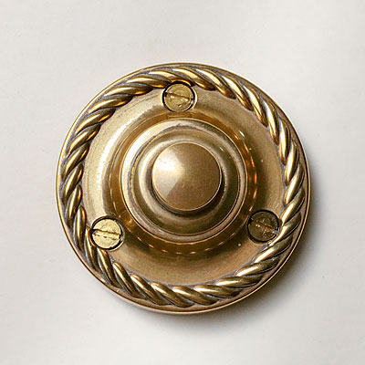 ENGLISH BRASS DOOR BELL
