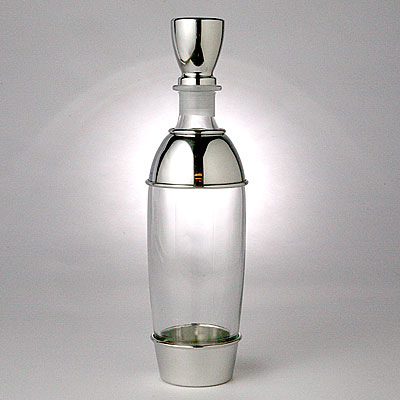 HIGH ROUND DECANTER