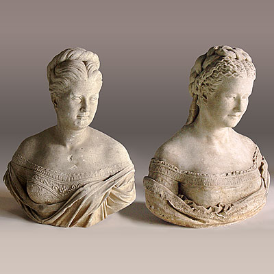 PAIR OF P.F. CONNELLY BUSTS