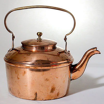 FRENCH COPPER KETTLE