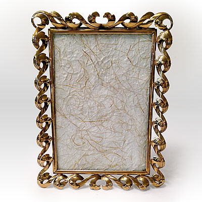 BRASS PICTURE FRAME