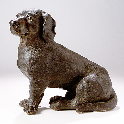 DACHSHUND TERRA COTTA DOG