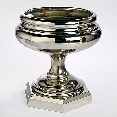 CHROME CENTERPIECE BOWL