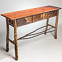 ADIRONDACK SOFA TABLE