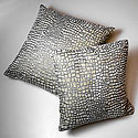 LARGE IVORY MOSAIC PRINT FORTUNY PILLOW