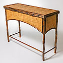 BAMBOO AND RATTAN DESK