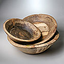 MEDIUM NATURAL WOODEN BOWL