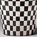 CHECKERED WINE COOLER