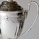 SILVERPLATE GOLF TROPHY