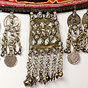 ETHNIC EMBROIDERED & BEADED BELT