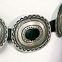 AMERICAN INDIAN CONCHO BELT