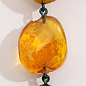 GERDA DANISH AMBER EARRINGS
