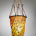 FORTUNY SILK HANGING LAMP