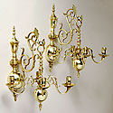 CANDELABRA WALL SCONCES