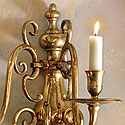 BRASS SCONCES