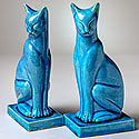 CHINESE CAT FIGURES